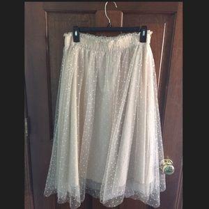 LC Disney Collection Polka Dot Tulle Skirt